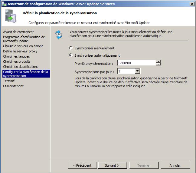 réparer composants windows update